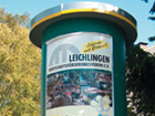 Leichlinger Litfasssäulen