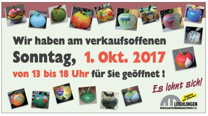Obstmarkt und verkaufsoffener Sonntag