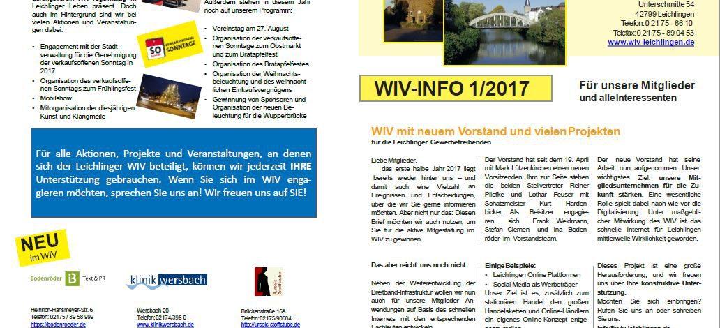 WIV-Info 1/2017