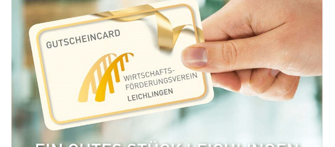 Wirtschaftsförderungsverein Leichlingen stellt neue GutscheinCard vor