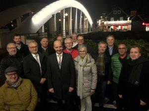 Sponsoren Brückenbeleuchtung