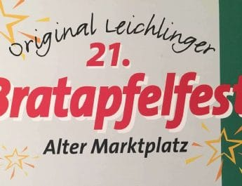 21. Bratapfelfest mit verkaufsoffenem Sonntag