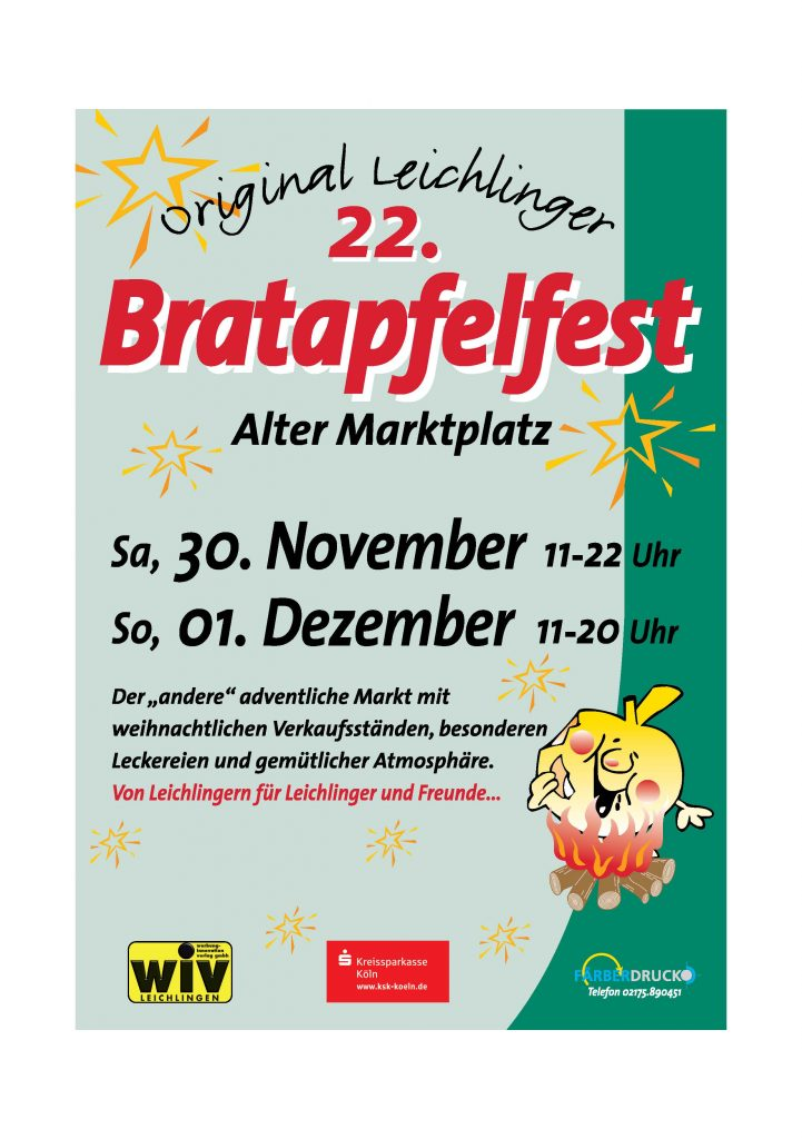 Bratapfelfest 2019