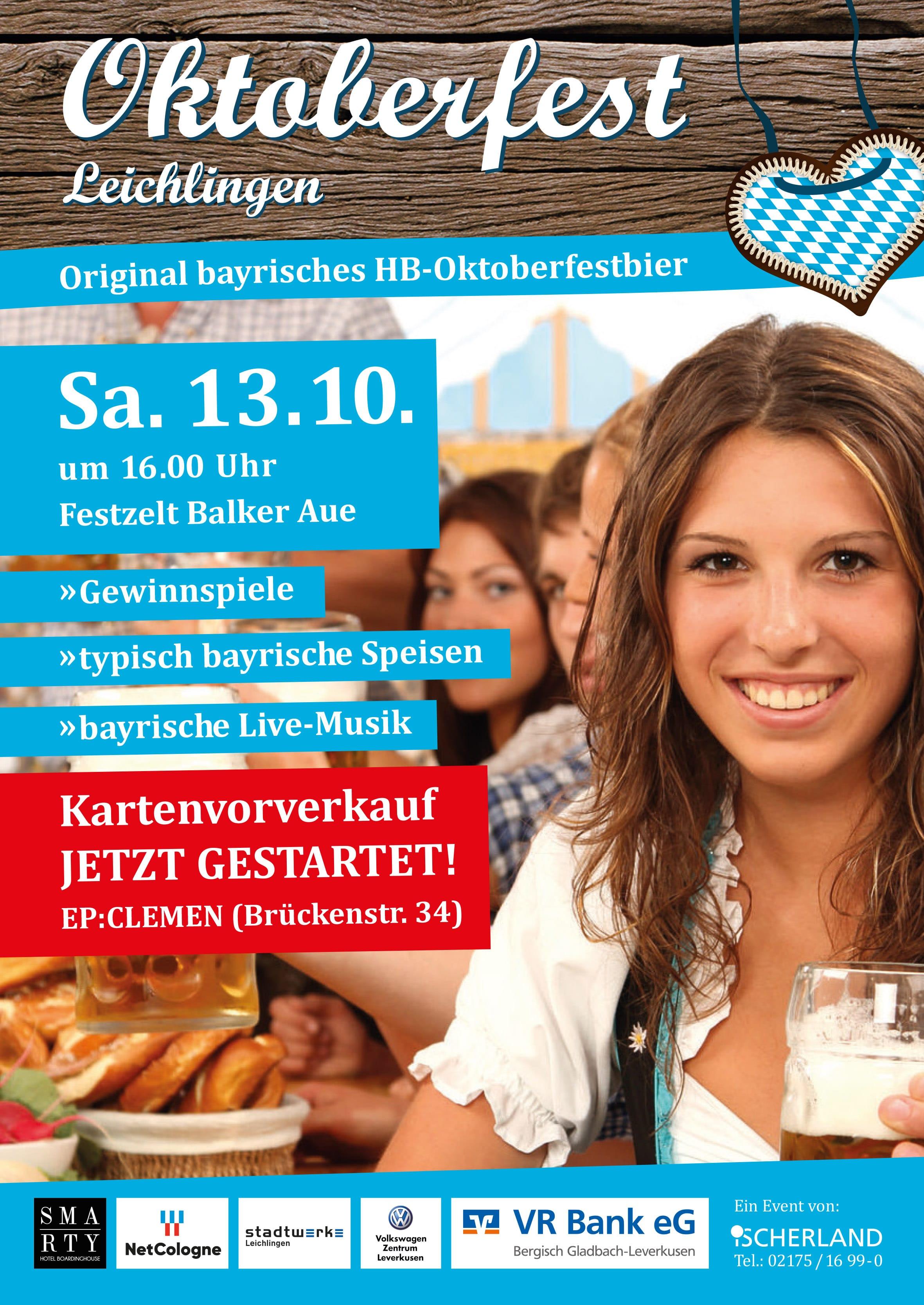 Oktoberfest in Leichlingen