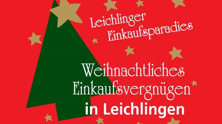 Weihnachtliches Einkaufsvergnügen 2017 in Leichlingen