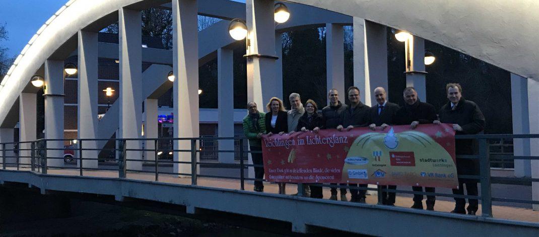 Acht Sponsoren sichern die Weihnachtsbeleuchtung